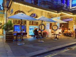 Outdoor Seating - Mr Fogg's