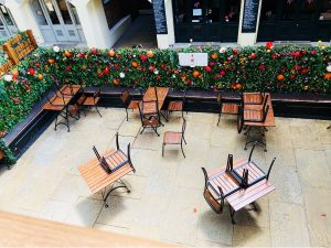 Outside Seating - Covent Garden