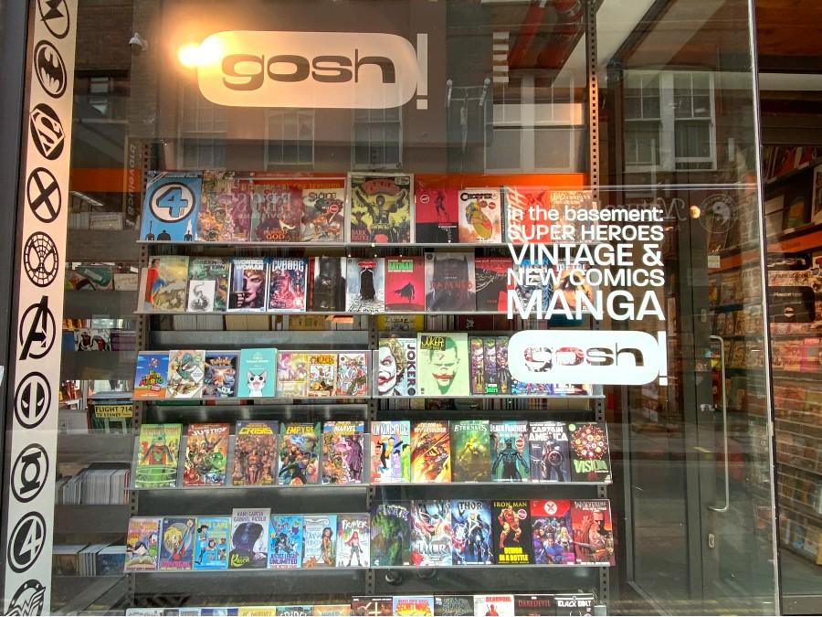 Gosh! Comics London