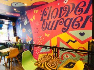Flower Burger Charlotte Street
