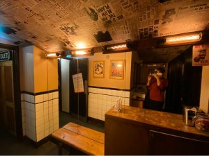 Instagrammable Bathroom at Cahoots London