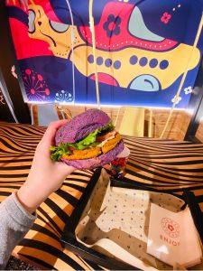Tartar Chickpea Burger - Flower Burger