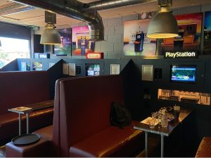 Private Booths in Four Quarters Bar