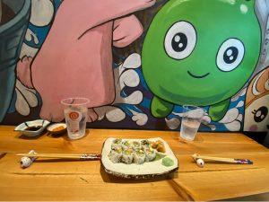 Sushi at Uzumaki Restaurant