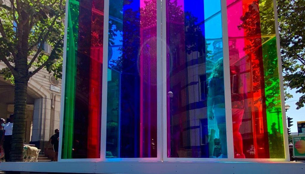 Celebrating Natural Light - Summer Lights at Canary Wharf