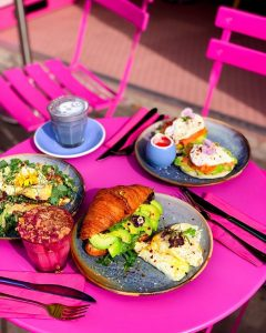 Quirky Brunch at Coffee Addict