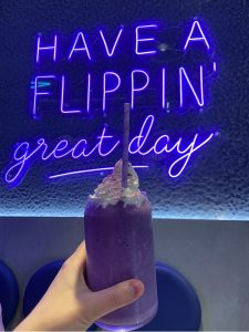Ube Frappe at Crome London