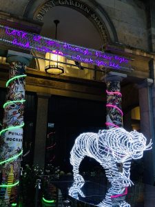 Neon Tiger in Covent Garden