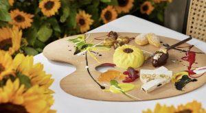 Scott's Mayfair Van Gogh Inspired Dessert