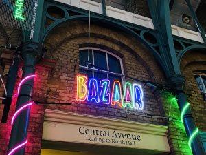 Neon Words in Covent Garden