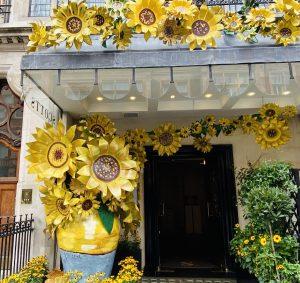 Van Gogh Inspired Decoration at Scott's Restaurant