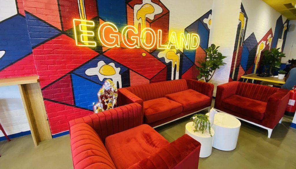 London's Newest Hot Spot - EGGOLAND