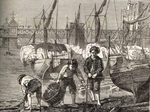 Mudlarking Boys in the 19th Century
