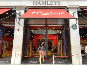 Friendly Witch at Hamley's