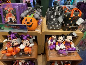 Halloween at Disney Store